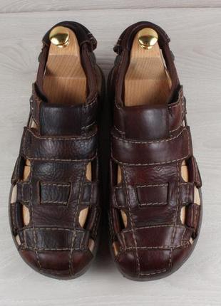Мужские кожаные закрытые сандали clarks active air оригинал, размер 42 (сандалии)