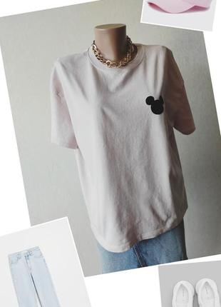 Рлзовая футболка.футболка h&м