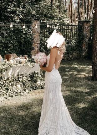 Свадебное платье от украинского дизайнера!