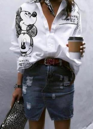 Рубашка микки