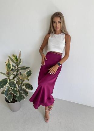 Костюм юбка +топ разные цвета 💞