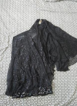 Шикарное вечернее шелковое платье в пайетки на одно плече jovani sheri hills