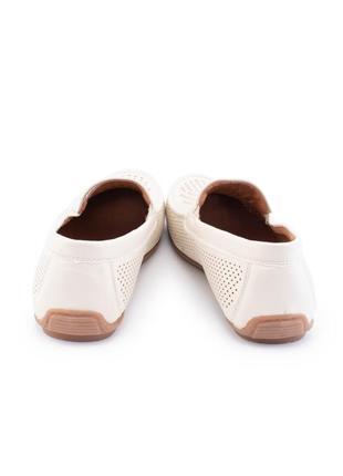 Мужские бежевые туфли из эко-кожи2 фото