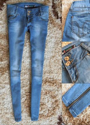 Чоткі джинсики з замочками