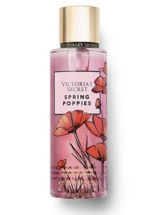 Парфюмированный мист vs спрей для тела spring poppies спрей