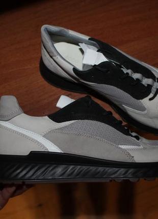 41 ecco st.1 оригинальные кожаные кроссовки