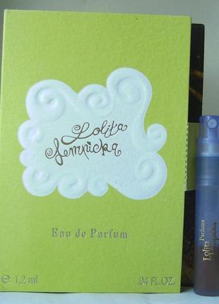 Пробник - lolita lempicka - edp - 1.2 мл. (spray) оригінал. вінтаж