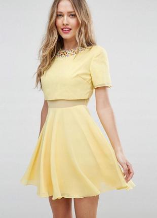 Asos яскрава сукня (30181)
