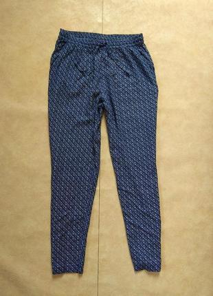 Легкие летние штаны брюки бойфренды с высокой талией isle, 10 размер.
