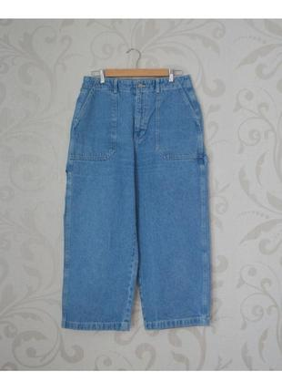 Джинси джинсы штаны штани рэп реп скейт 00s 00 сині синие голубые блакитні денім pull&bear