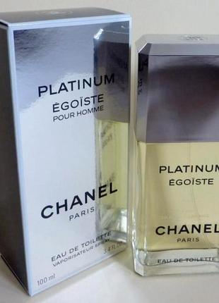 Chanel egoiste platinum оригинал_eau de toilette 5 мл затест распив отливанты