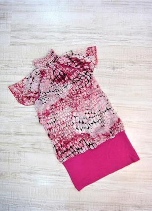 Блузка длинная, блуза, рубашка, гольф, туника, платье, р. хs/s