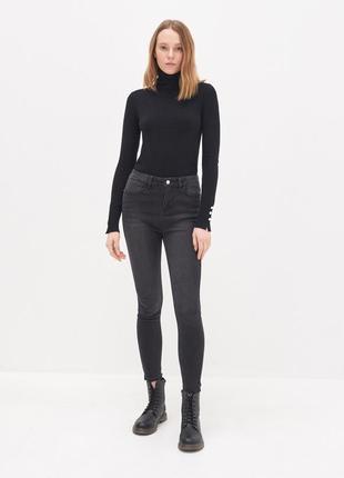 Cтильні скінні джинси з високою талією фірма house!