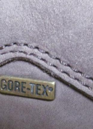 Туфли (полуботинки) sioux р.45.5. оригинал. gore-tex3 фото