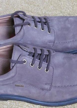 Туфли (полуботинки) sioux р.45.5. оригинал. gore-tex4 фото