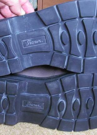 Туфли (полуботинки) sioux р.45.5. оригинал. gore-tex8 фото