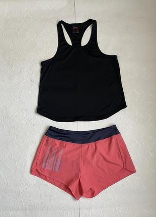 Скидка! комплект спортивной одежды, майка + шорты crivit