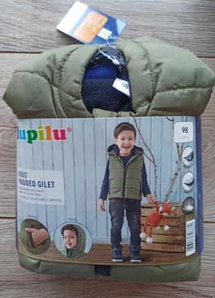 Ультра-легкий жилет на флісі для хлопчика lupilu
