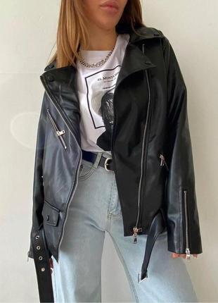 Куртка - косуха оверсайз