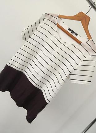 Футболка блуза в полоску