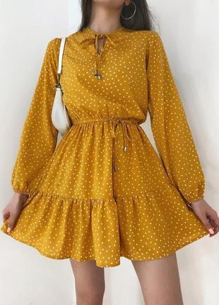 Платье в горошек 😻