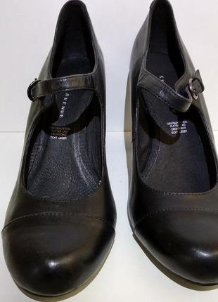 Туфли женские кожаные 5 th avenue