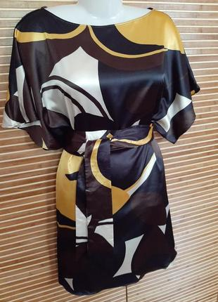 Платье кимоно zara