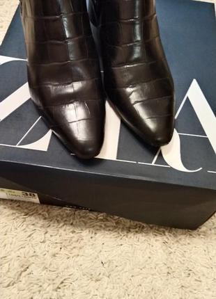 Ботинки женские кожаные 38 zara