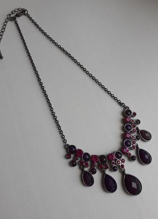 Колье ожерелье с подвесками