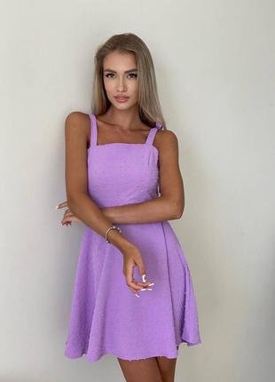 Платье на завязочках