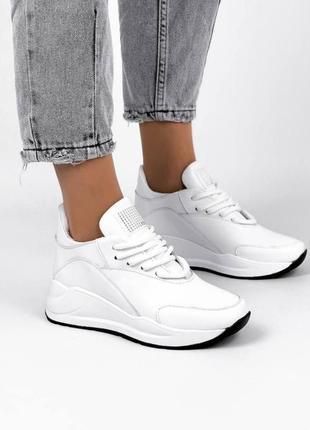 Белые кроссовки демисезонные 🔥❤