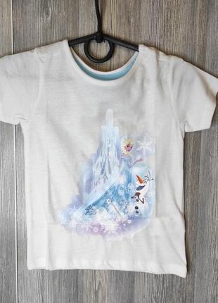 Класная футболочка с эльзой disney