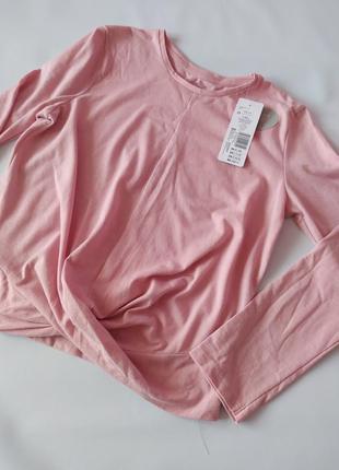 Стильная розовая кофта реглан f&f р.10-11
