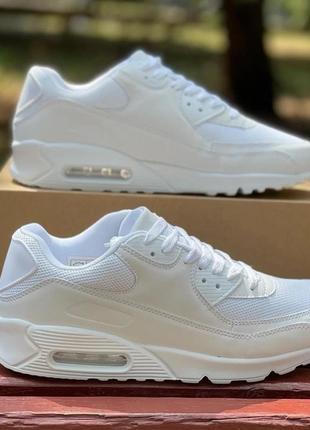 Мужские кроссовки total white