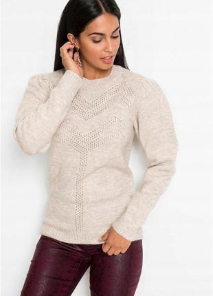 Модные вещи для пышных дам мягкий качественный свитер.