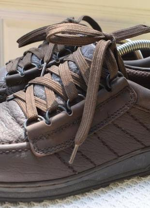 Кожаные туфли мокасины полуботинки германия р.42 27 см