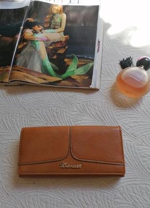Новый! кошелёк, портмане, вместительный в красивом цвете.