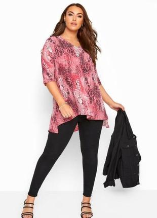 Новая стильная блуза большого размера