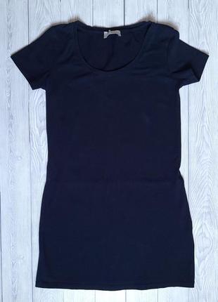 Базовое платье, удлинённая футболка
