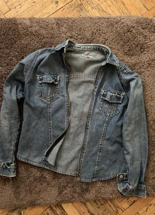 Куртка винтаж джинс