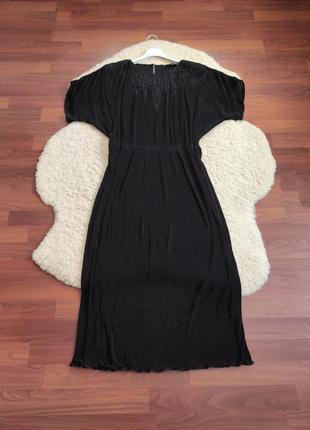 Нарядне чорне плаття великого розміру - ninalle boutique