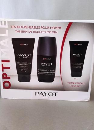 Набор для мужчин 3 средства payot homme
