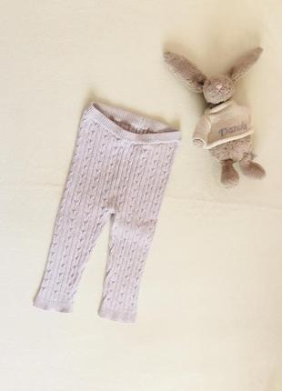 Красивые вязаные штаны, штанишки, ползунки. tu 9-12 мес.