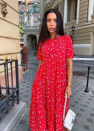 Платье женское батал летнее легкое миди длинное ниже колена черное8 фото