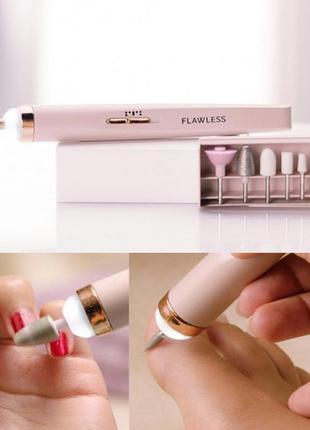 Фрезер-ручка для маникюра, розовый+подарок фреза