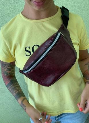 Распродажа /sale/скидка молодежная золотистая бананка сумка на пояс, сумка через плечо