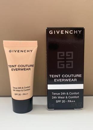 Givenchy teint couture everwear spf20 тональный крем 5 ml ( оттенок y205) пробник
