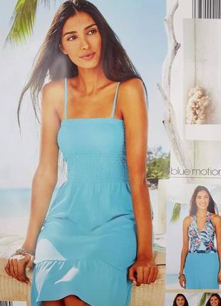 Платье летнее на резинке, сарафан