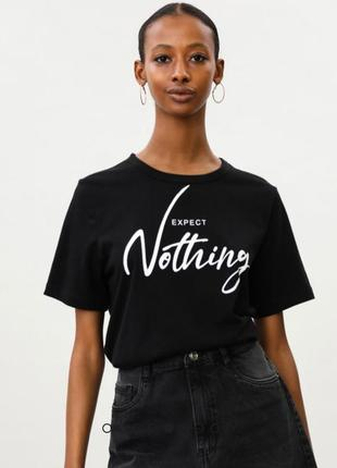 Черная футболка размер хл lefties