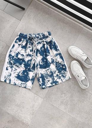 Мужские пляжные шорты свободного кроя  5 цветов